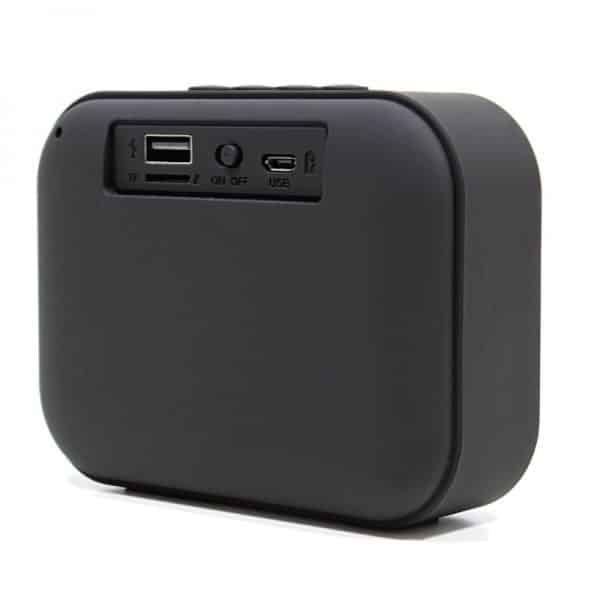 Altavoz Bluetooth Rectangular Omega Tela Rojo (3W) 3