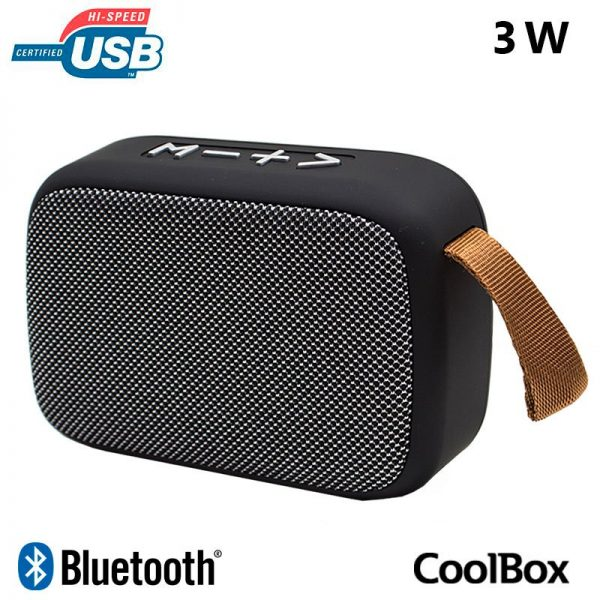 Altavoz Música Bluetooth Universal CoolBox CoolJazz (3W) 1