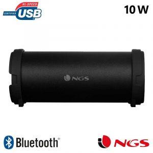 altavoz musica universal bluetooth marca ngs roller flow mini 10w 1