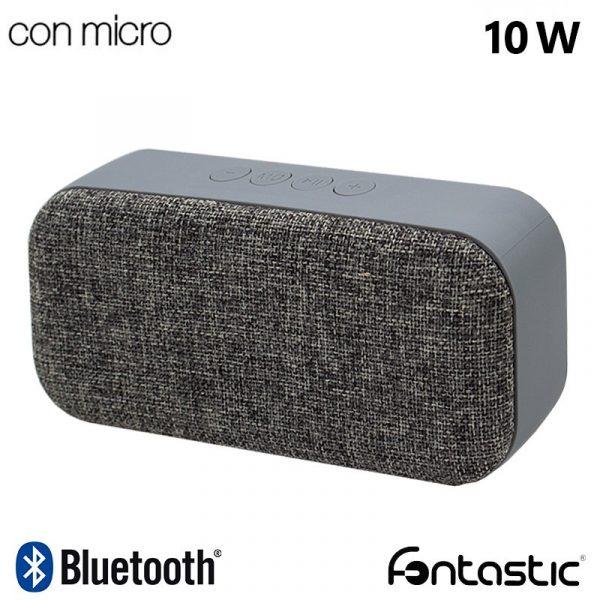 Altavoz Música Universal Bluetooth Marca Samba Fontastic Tela Gris (10W) 1