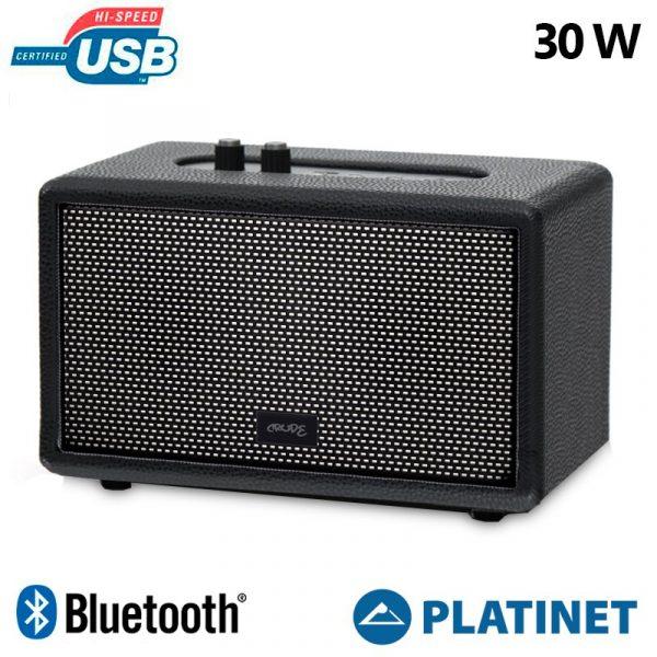 Altavoz Música Universal Bluetooth Platinet Fashion Crude (30W) 1