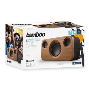 Altavoz Música Universal Bluetooth Platinet Fashion Edition Bamboo (35W) 5