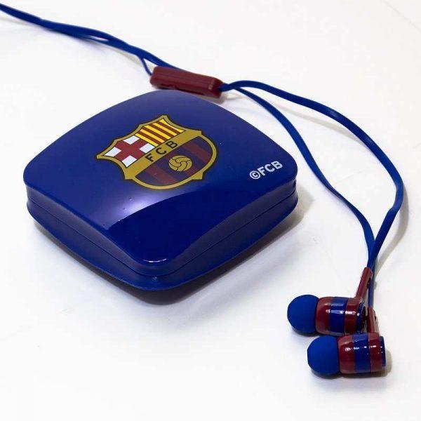 auriculares 35 mm stereo licencia futbol fc barcelona 1