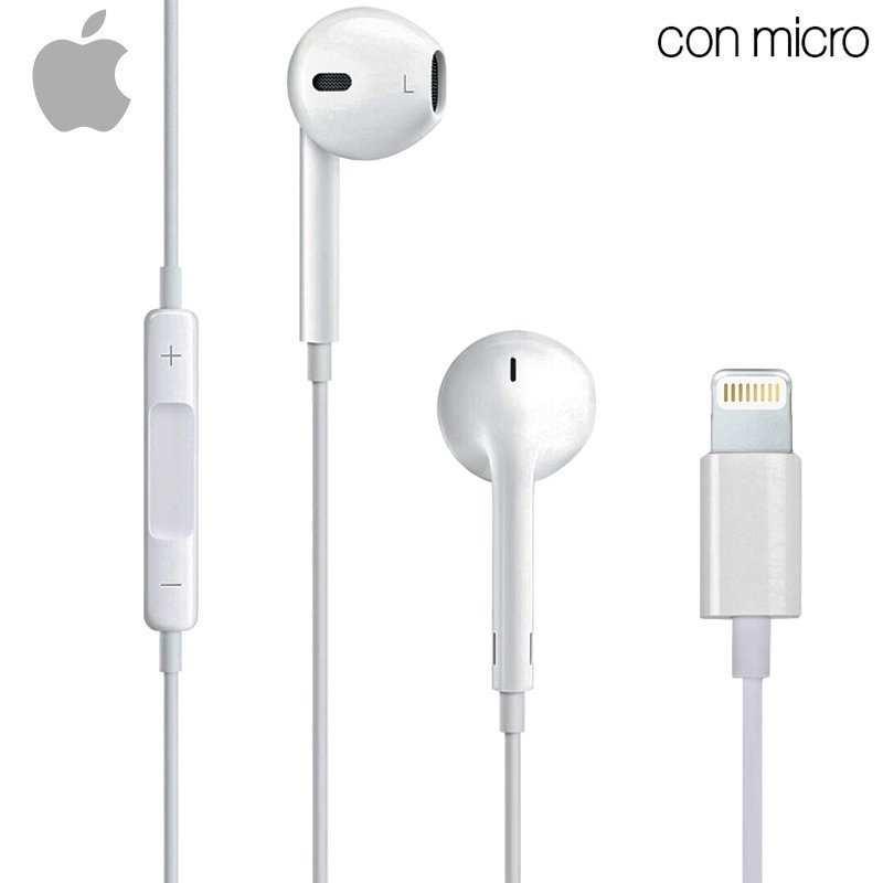 e28d0ca596b Auriculares Apple (Lightning) Original iPhone 7 / 7 Plus / 8 / X ...