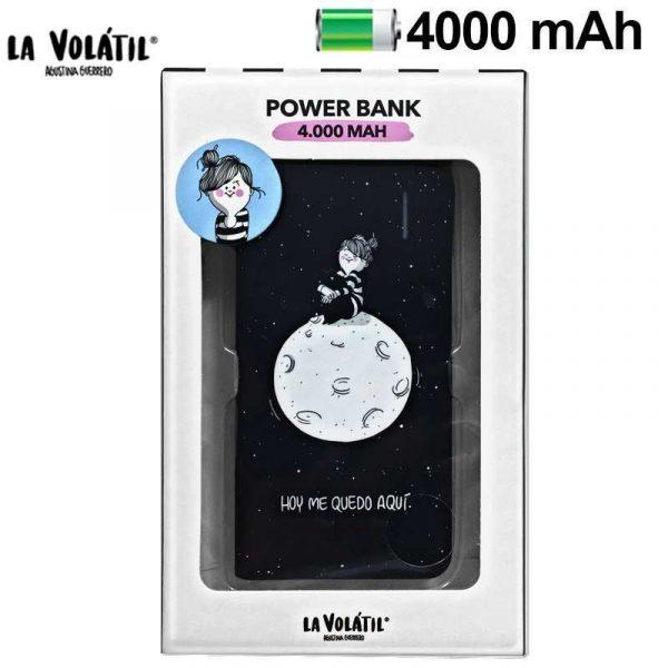 Bateria Externa Micro-usb Power Bank 4000 mAh Licencia La Volátil 1