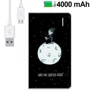 Bateria Externa Micro-usb Power Bank 4000 mAh Licencia La Volátil 3