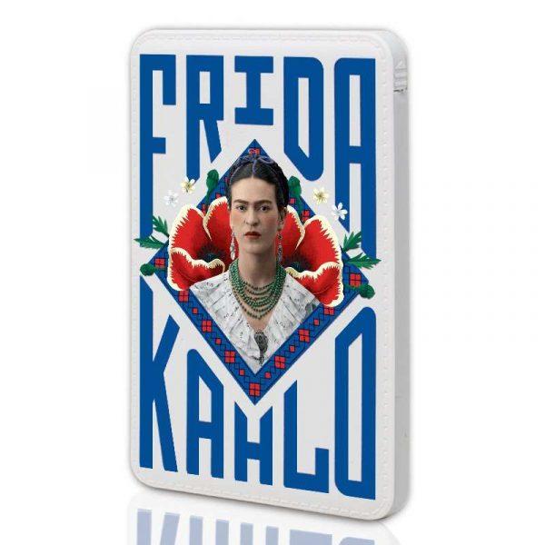 Bateria Externa Micro-usb Power Bank 6000 mAh Licencia Frida Kahlo 3