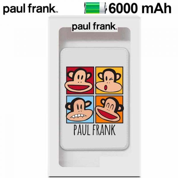 Bateria Externa Micro-usb Power Bank 6000 mAh Licencia Paul Frank 1