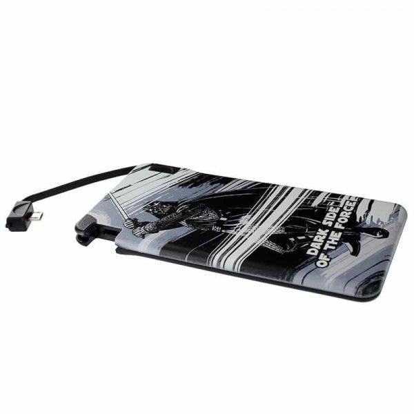 Bateria Externa Micro-usb Power Bank 6000 mAh Licencia Star Wars Darth Vader 2