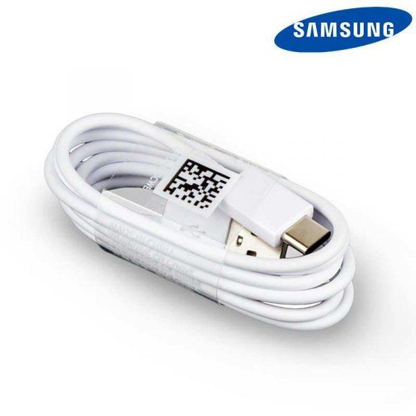 cable usb original samsung universal tipo c blanco sin blister