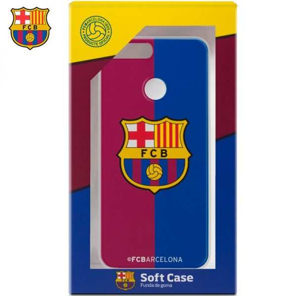 carcasa huawei honor 9 lite licencia futbol fc barcelona blaugrana