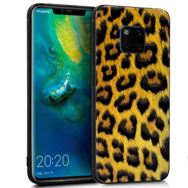 carcasa huawei mate 20 pro dibujos leopardo