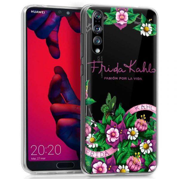 carcasa huawei p20 pro licencia frida kahlo flores