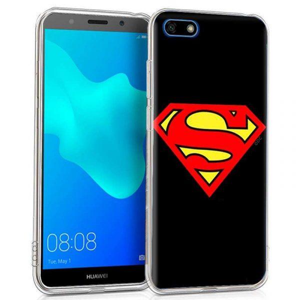 carcasa huawei y5 2018 honor 7s licencia dc superman