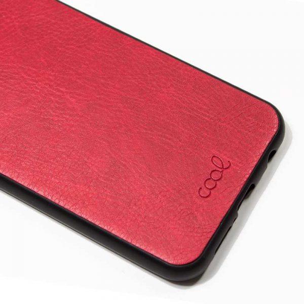 carcasa huawei y7 2018 honor 7c leather piel rojo