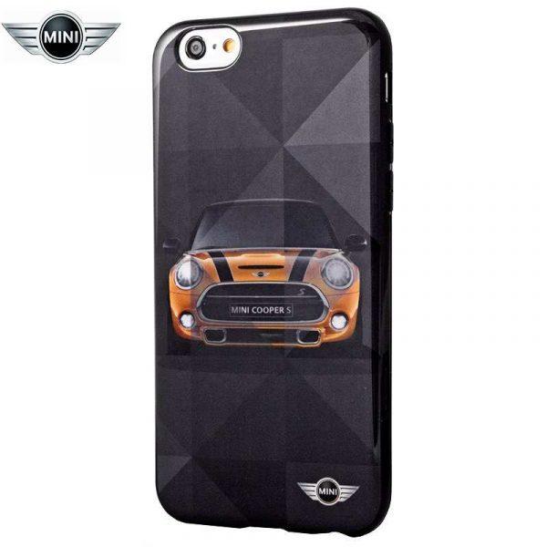 carcasa iphone 6 6s licencia mini cooper coche 1