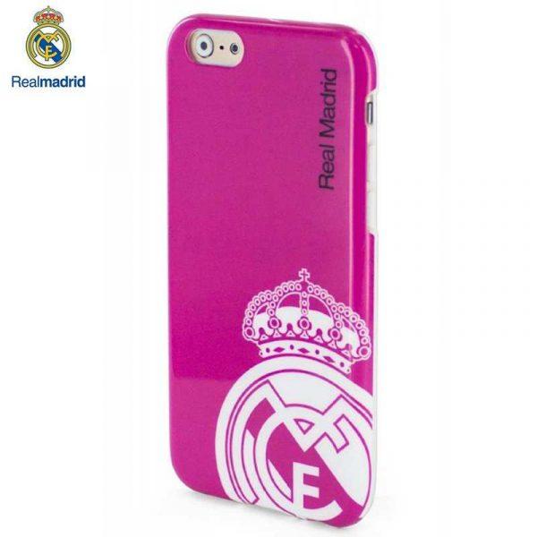 Carcasa IPhone 6 Plus / 6s Plus Licencia Fútbol Real Madrid Rosa 2