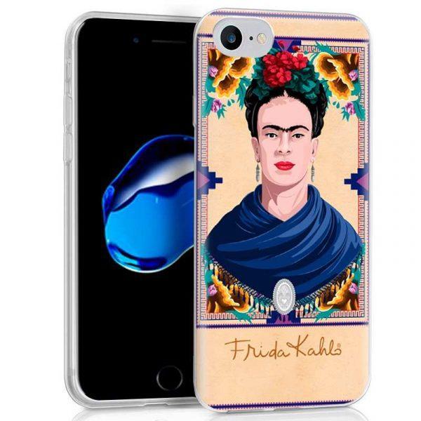 carcasa iphone 7 iphone 8 licencia frida kahlo woman