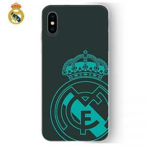 carcasa iphone x iphone xs licencia futbol real madrid verde oscuro2
