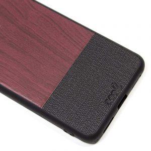 carcasa iphone xs max dibujos madera caoba