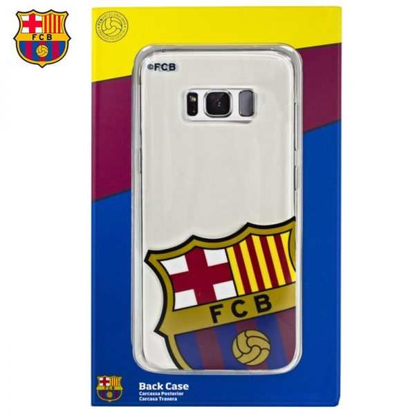 carcasa samsung g950 galaxy s8 licencia futbol fc barcelona escudo 1