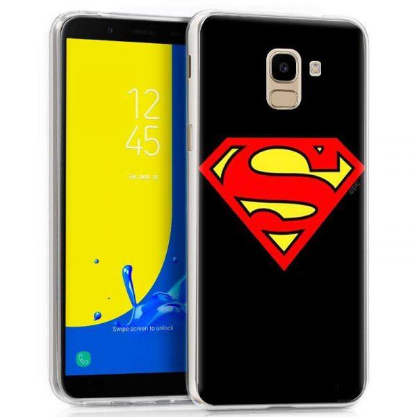 carcasa samsung j600 galaxy j6 licencia dc superman