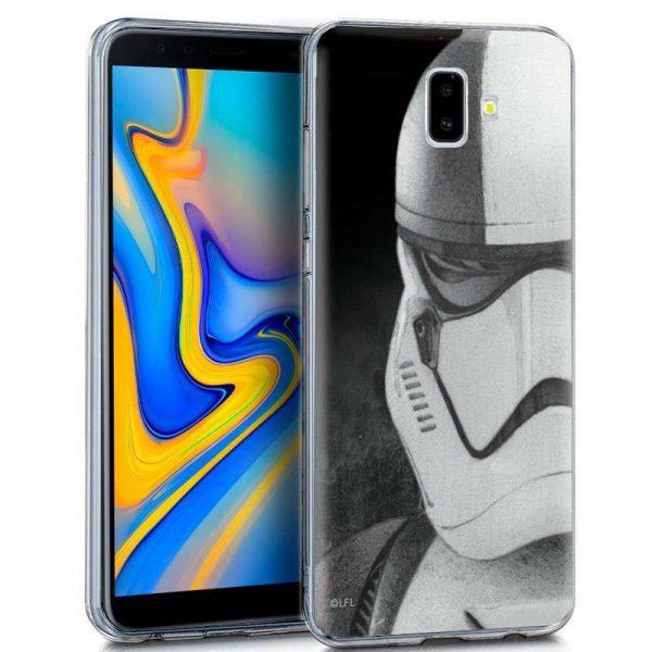 carcasa samsung j610 galaxy j6 plus licencia star wars stormtrooper 1