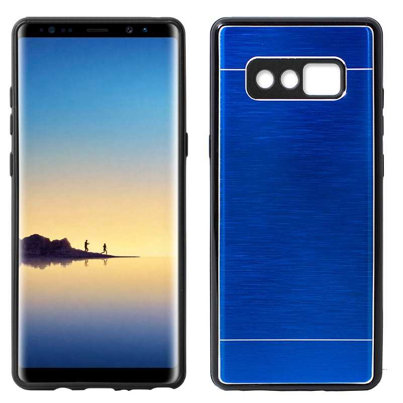 8 Note Samsung N950 Galaxy Azul Carcasa Aluminio