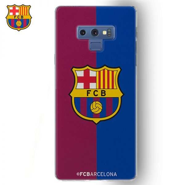 carcasa samsung note 9 licencia futbol fc barcelona blaugrana