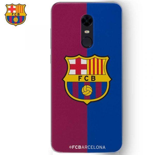 carcasa xiaomi redmi 5 plus licencia futbol fc barcelona blaugrana