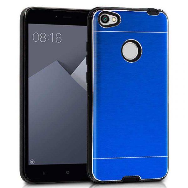 carcasa xiaomi redmi note 5a note 5a prime aluminio azul