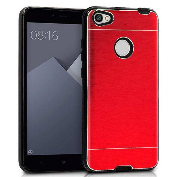 carcasa xiaomi redmi note 5a note 5a prime aluminio rojo