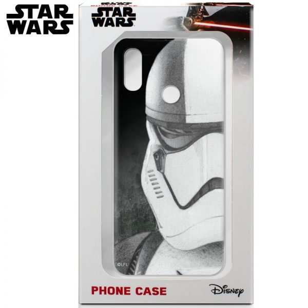 carcasa xiaomi redmi note 6 pro licencia star wars stormtrooper 1