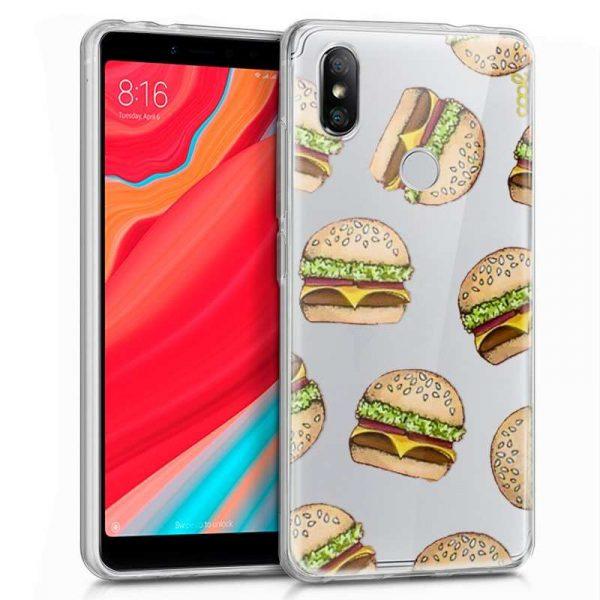 carcasa xiaomi redmi s2 clear burger