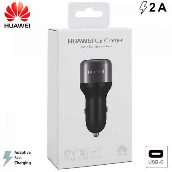 Cargador Coche Original Huawei 2Amp Carga Rápida (Tipo C) (Con Blister) 1