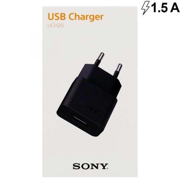 Cargador Red Original Sony (micro-usb) Negro (Con Blister) 1