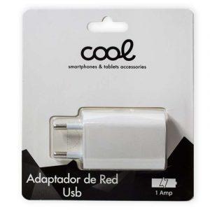 Cargador Red Universal Entrada 1 x USB 1 Amperio Blanco 3