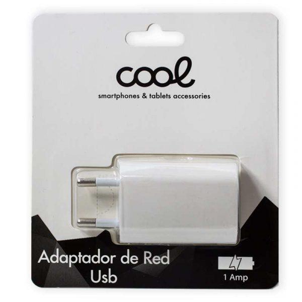 Cargador Red Universal Entrada 1 x USB 1 Amperio Blanco 2