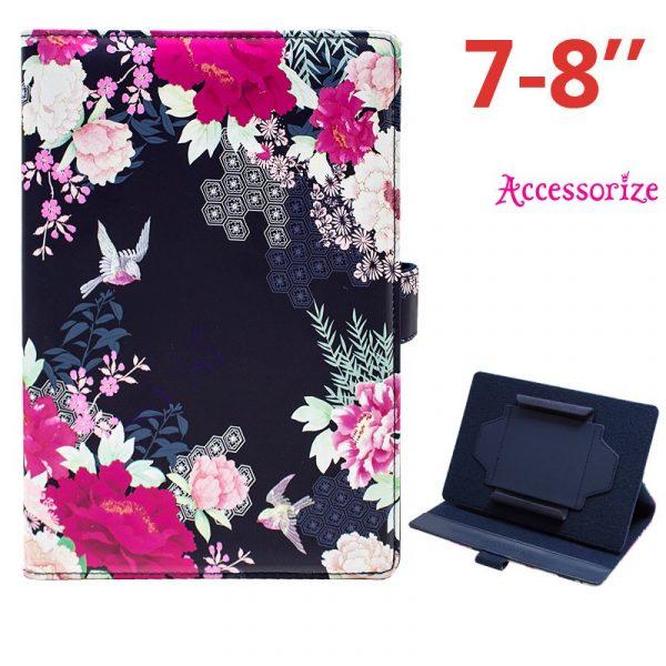 funda ebook tablet 7 pulgadas universal licencia accessorize flores 2