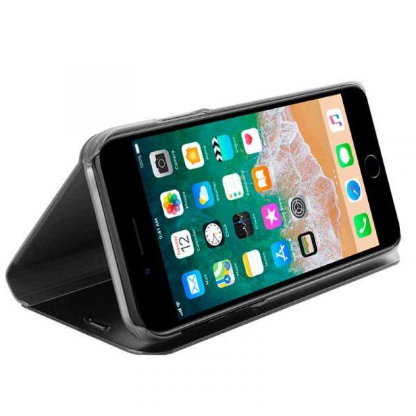 funda flip cover iphone 7 plus iphone 8 plus clear view negro 1