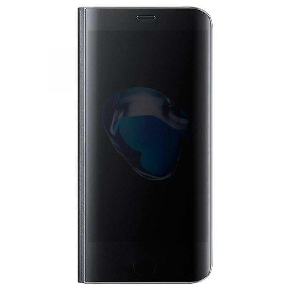 funda flip cover iphone 7 plus iphone 8 plus clear view negro