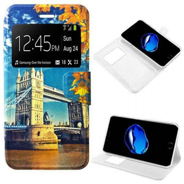 funda flip cover iphone 7 plus iphone 8 plus dibujos london