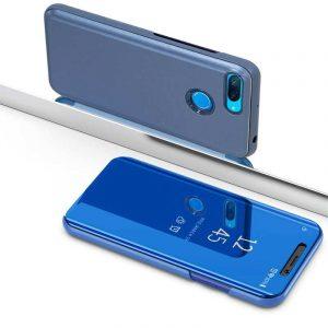 Funda Flip Cover Xiaomi Mi8 Lite Clear View Azul 5