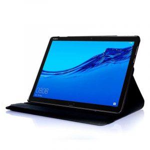 Funda Huawei Mediapad T5 Polipiel Liso Negro 10 pulg 3