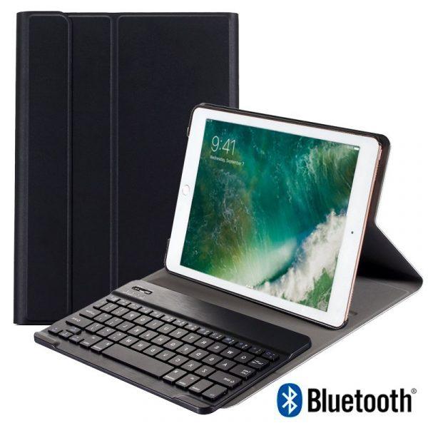 Funda iPad Air / Air 2 / Pro 9.7 / iPad 2017 / iPad 2018 9.7 pulg Polipiel Teclado Bluetooth 1
