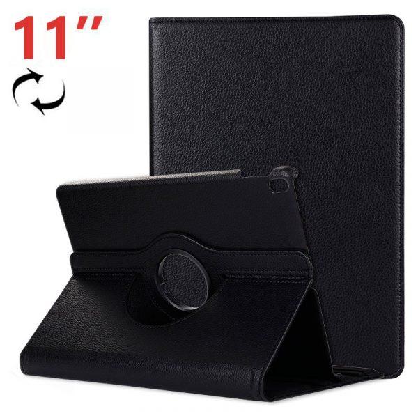funda ipad pro 11 pulg giratoria polipiel negro 2