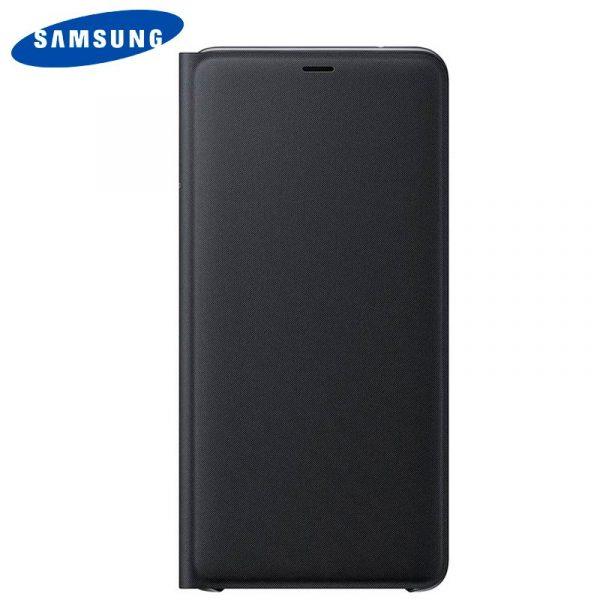 funda original samsung a920 galaxy a9 2018 wallet cover negro con blister 1