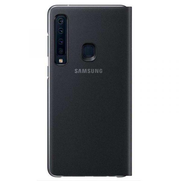 funda original samsung a920 galaxy a9 2018 wallet cover negro con blister