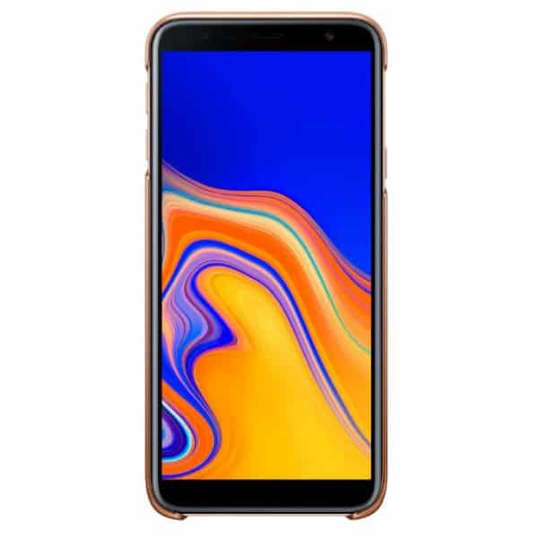 Funda Original Samsung J415 Galaxy J4 Plus Gradation Cover Trasera Orange (Con Blister) 2