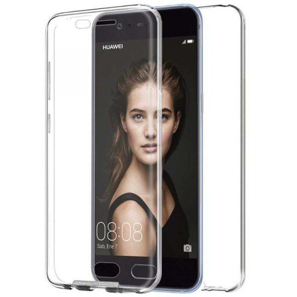 Funda Silicona 3D Huawei P10 (Transparente Frontal + Trasera) 1